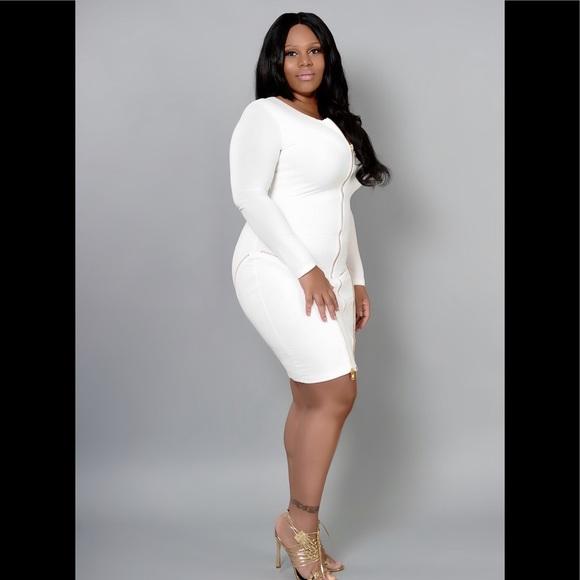 Plus size women's body con dress NWT